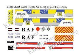 RAF Police Set 2 - Defenders